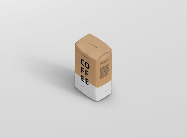 Coffee Paper Bag Mockup - product preview 5