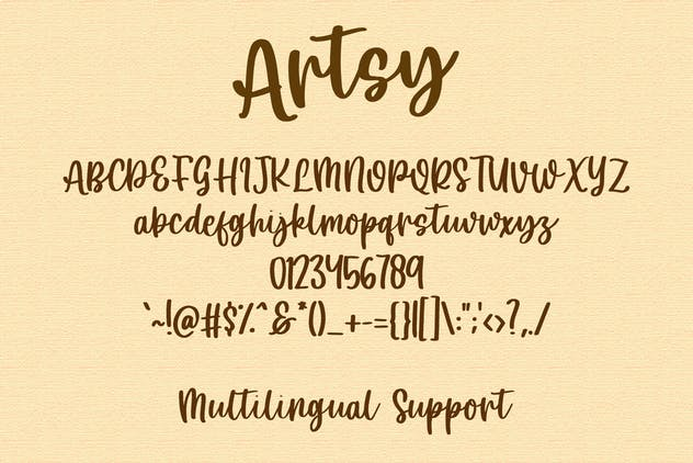 Artsy - Handwritten Font - product preview 0