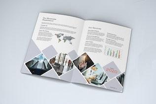 Thumbnail for Minimalist Business Brochure Bi-Fold