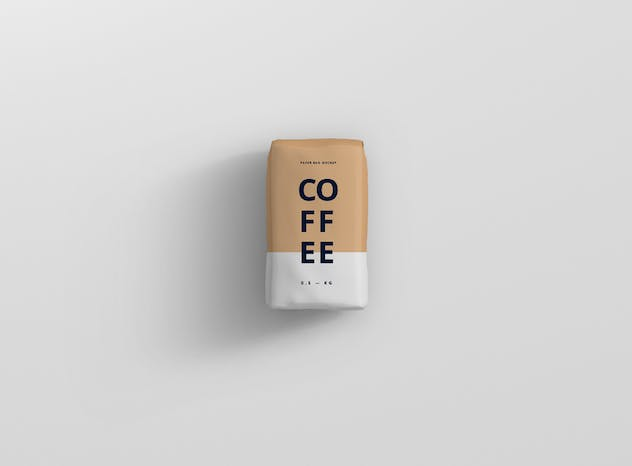 Coffee Paper Bag Mockup - product preview 1