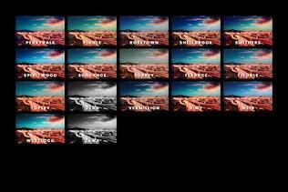 Vista en miniatura para Noche Magic - 43 presintonías y LUTs de Lightroom
