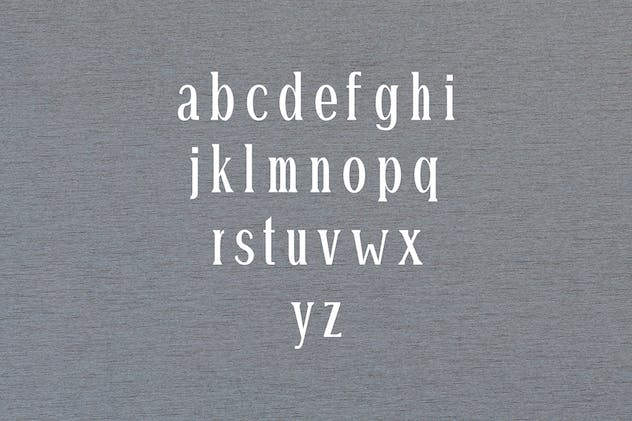 Montrell Serif Font Family Pack - product preview 2