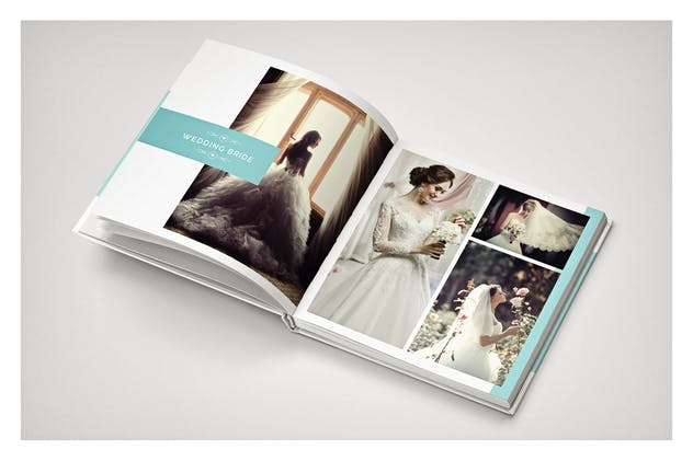 PSD - Minimalist Wedding Album - product preview 8