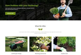 Miniatura para Gaco - Plantilla de musa de jardinería y jardinería YR