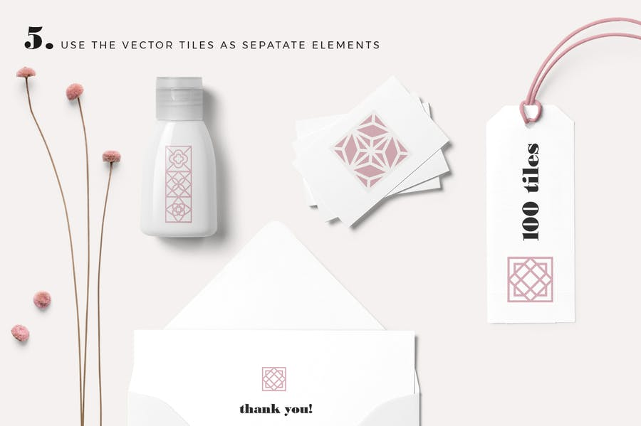 100 Tiles Patterns - product preview 5