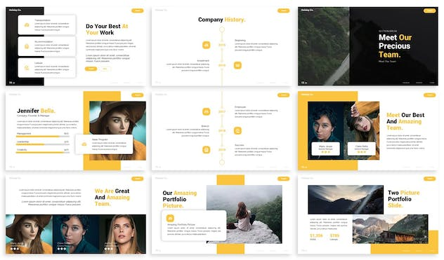 Discover - Advertising Powerpoint Template - product preview 2