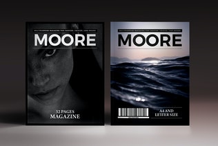 Thumbnail for Moore Indesign Magazine Template