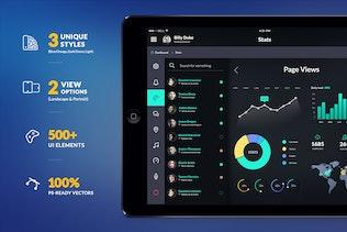 Thumbnail for InSpired - iPad & Tablet App Design UI Kit