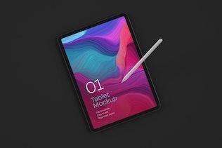 Thumbnail for iPad Pro Mockup Set | Tablet Screen