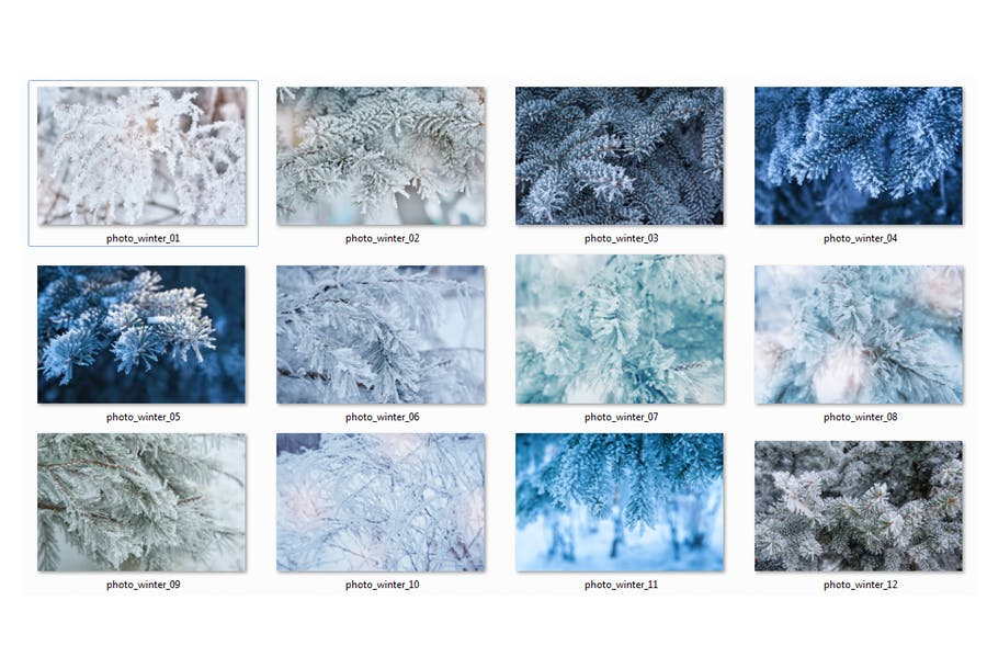Winter Photo Pack - product preview 2