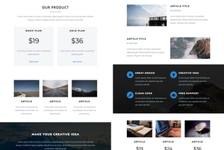 Thumbnail for Ember - Responsive Email + StampReady Builder