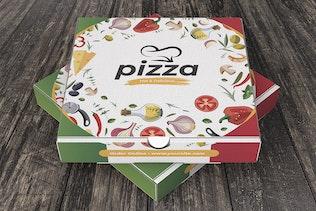 Thumbnail für Pizzaschachtel Design