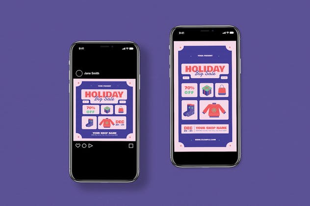 Holiday Sale Flyer Pack