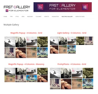 Thumbnail for Fast Gallery for Elementor WordPress Plugin