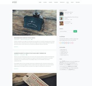Thumbnail for Hygge - Multipurpose Single/Multi Page Template