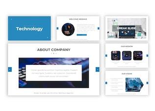 Thumbnail for Technology - Google Slides Template