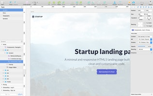 Thumbnail for Emanate - Startup Landing Page