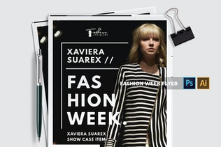 Thumbnail for Fashion Week | Flyer