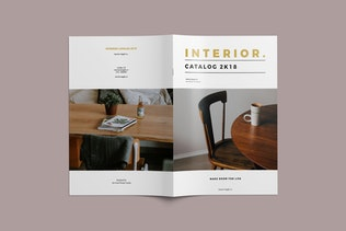 Thumbnail for Interior - Furniture Catalog Brochure Template