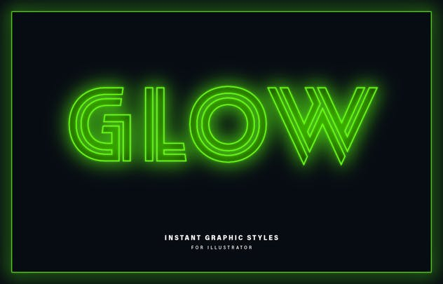 Neon Graphic Styles - product preview 2
