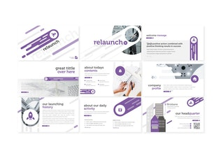 Thumbnail for Relaunch - Keynote Template