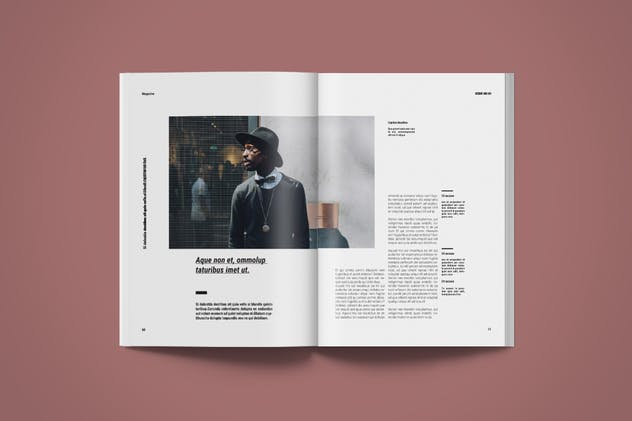 Magazine Template | More - product preview 1