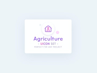 Thumbnail for UICON - Farm, Agriculture Icons Set