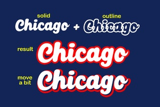 Thumbnail for Chicago Font