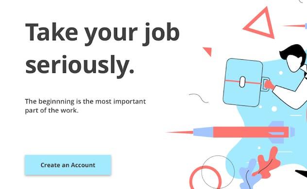 Jobsin - Jobseeker Web Hero Template - product preview 1