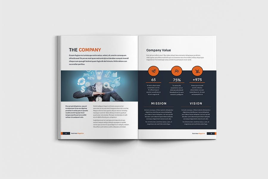 Workfice - A4 Business Brochure Template - product preview 2