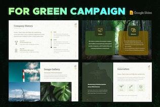 Thumbnail for Eco Environment Google Slide Presentation