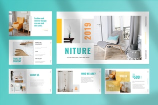 Niture - Furniture Keynote Presentation