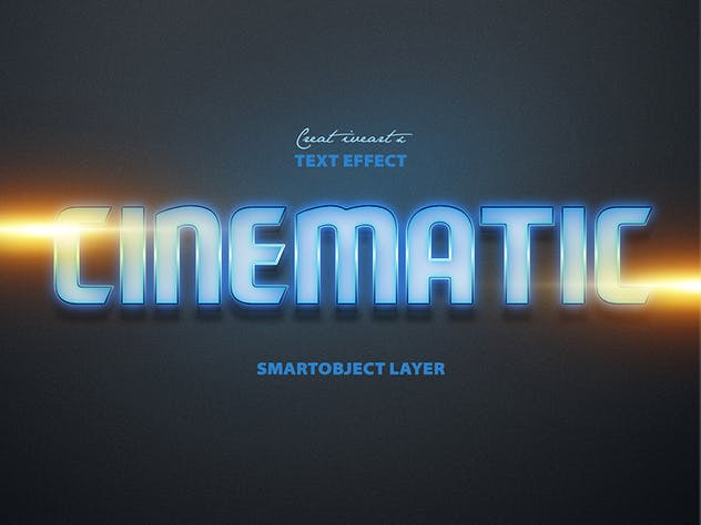Cinematic 3D Text - product preview 2