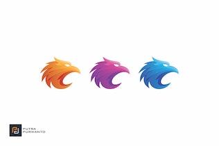 Thumbnail for Falcon - Logo Template