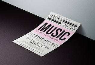 Thumbnail for Music Party Flyer