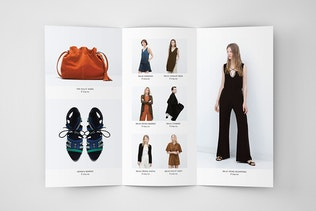 Thumbnail for Fashion A4 Trifold Brochure