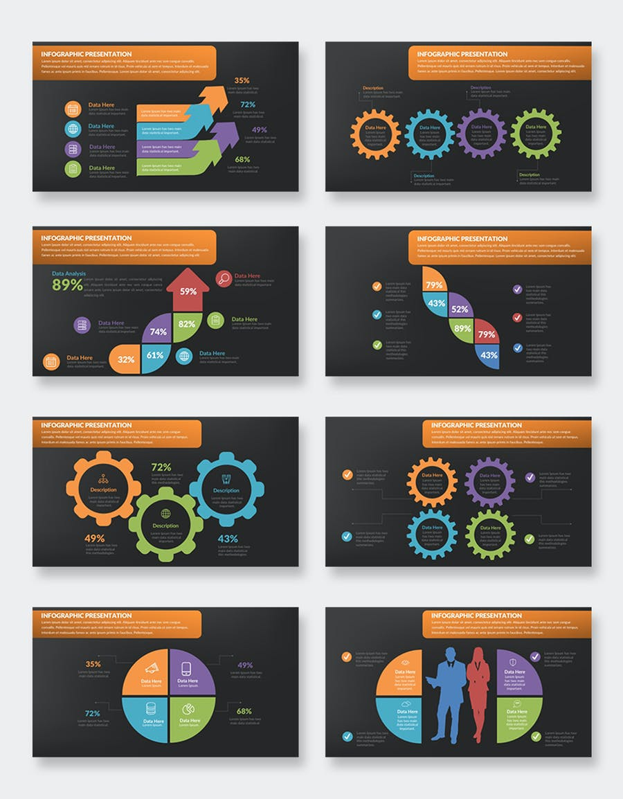 Infographics Keynote Presentation - product preview 7