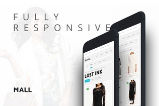 Thumbnail for Mall — Multi-Purpose eCommerce Responsive Template