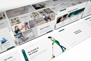 Thumbnail for Cleaning Service Powerpoint Template
