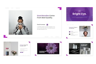 Thumbnail for Bright Eye - Powerpoint Template