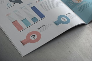 Thumbnail for Pro Flat Infographic Brochures