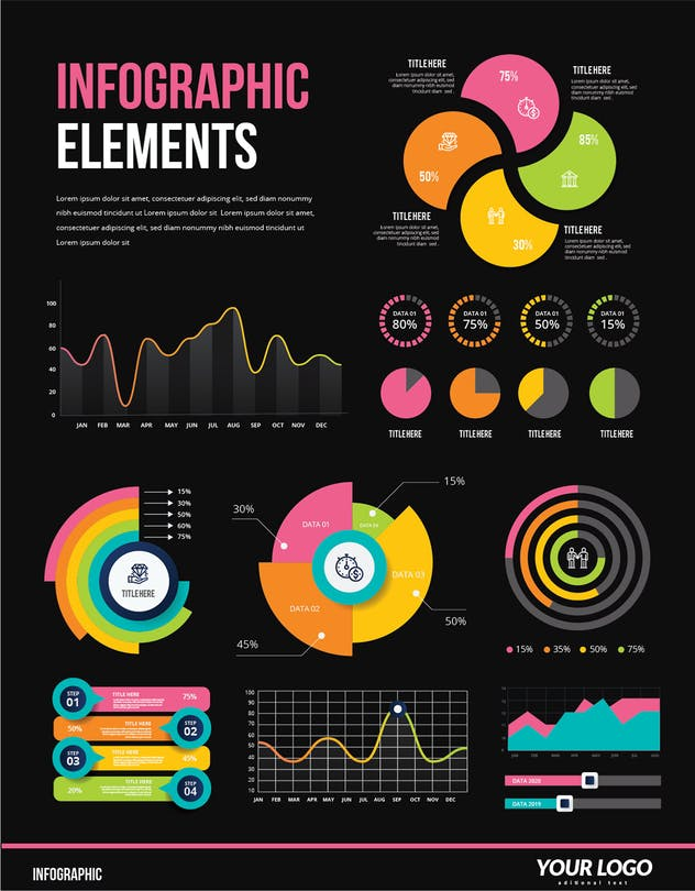 Infographic Examples for Designer V.53 - product preview 1