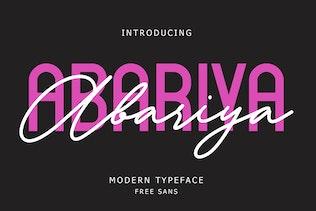 Miniature pour Abariya Font Duo