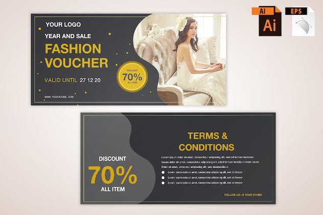 Fashion Voucher - product preview 1