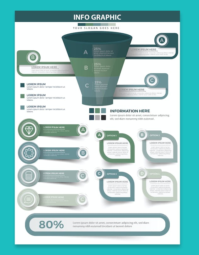 Infographics Element Design - product preview 4