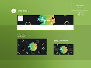Fashion Agency Social Media Pack Template