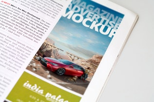 Thumbnail for Magazine Advert Mockups v2