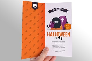 Thumbnail for Halloween Flyer Design
