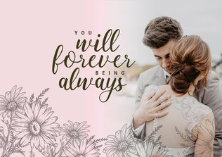 Thumbnail for Baby Elysa Wedding Font