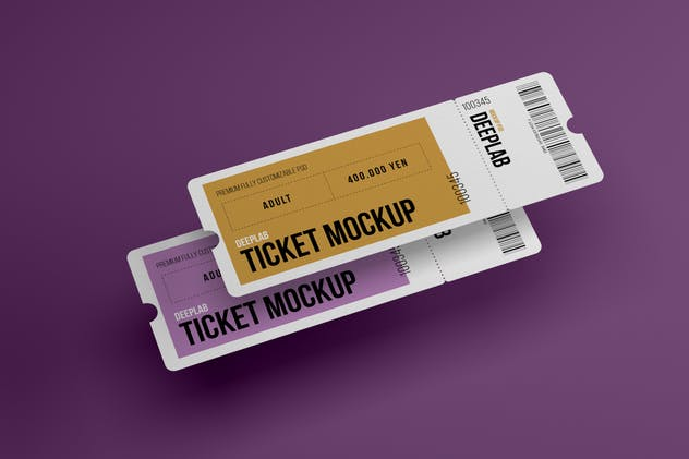Event Ticket Mockup Set - product preview 5